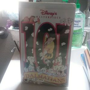 Disney Masterpiece 101 Dalmations VHS